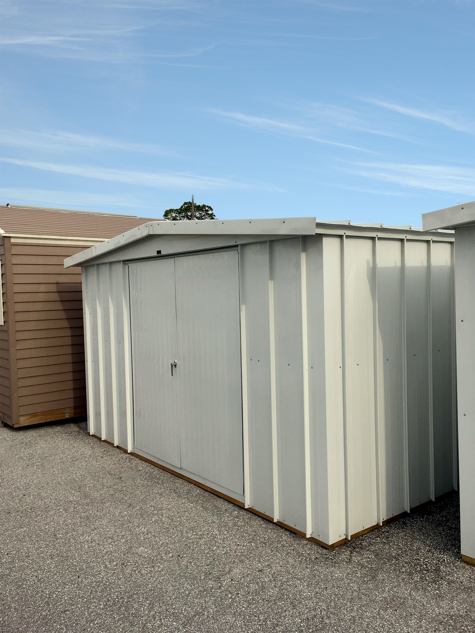 Gable roof shed wally watt for Gable shed