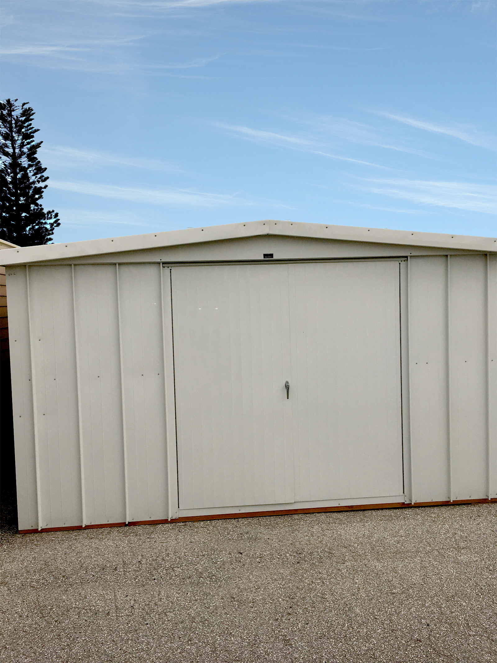 Gable roof shed wally watt for Shed roofs